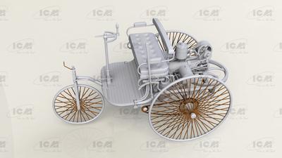 Benz Patent - Motorwagen 1886 - 2
