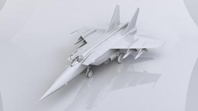 Mig-25 BM Soviet Strike Aircraft - 2