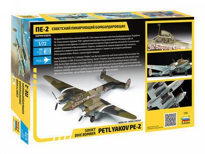 Soviet Dive Bomber Petlyakov PE-2 - 2