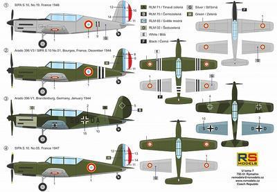 Sipa S.10/Arado Ar-396 - 2