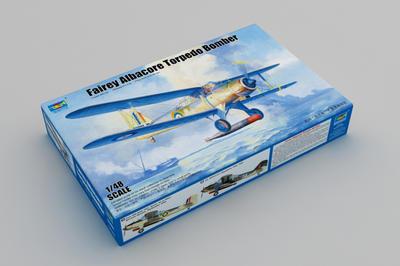 Fairey Albacore Torpedo Bomber - 2