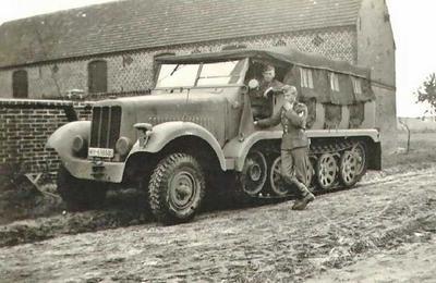 Zugkraftwagen 5t. Sdkfz.6 Pionier - 2