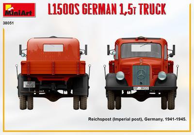 L1500S GERMAN 1,5T TRUCK - 2
