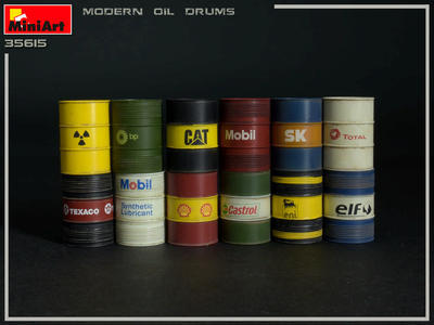 Modern Oil Drums 200L - 2