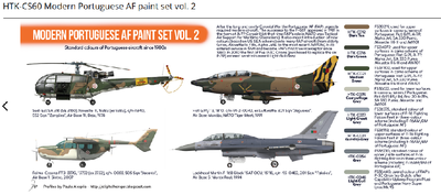 Modern Portuguese AF paint set vol. 2 - 2