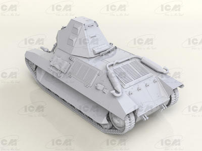 FCM 36, WWII French Light Tank - 2