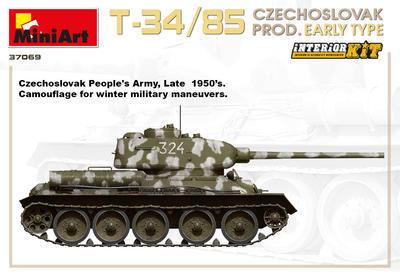 T-34/85 Czechoslovak Production Early Type - 2