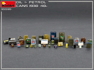 Oil & Petrol Cans 1930-40s - 2