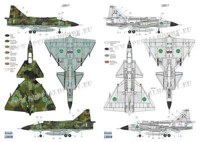 """SAAB AJ-37/Sk37 Viggen """"Duo Pack & Book"""" - 2"""