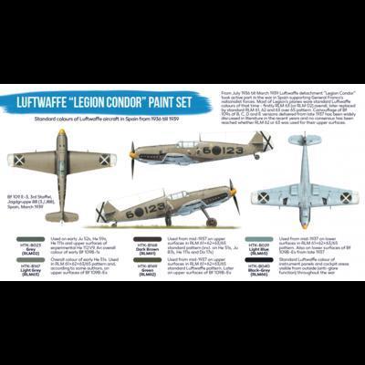 """Luftwaffe """"Legion Condor""""  Paint Set, sada barev - 2"""