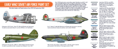 Early WW2 Soviet Air Force Paint set - 2