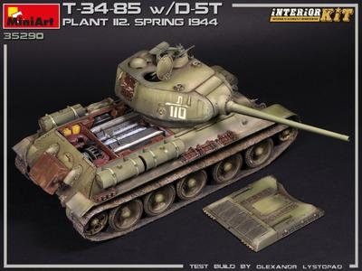 T-34/85 w D-5T, Plant 112 spring 1944 - 2