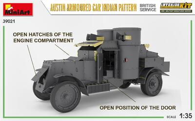 AUSTIN ARMOURED CAR INDIAN PATTERN. BRITISH SERVICE. INTERIOR KIT - 2