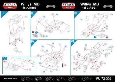 Willys MB 1st CIABG - 2