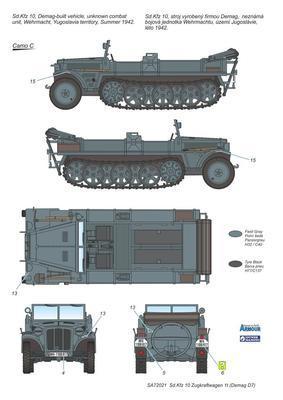 Sd.Kfz 10 Zugkraftwagen 1t (Demag D7) - 2