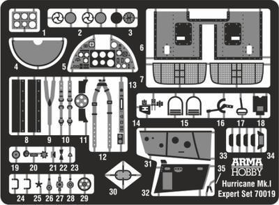 Hurricane Mk I Expert Set - 2