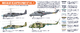Russian AF Helicopters  Paint Set Vol.1, set barev - 2/2