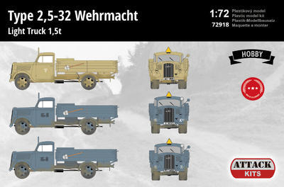 Type 2,5-32 Wehrmacht Light Truck 1,5 t (Hobby Line 2) - 2