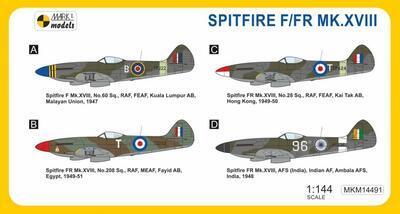 SPITFIRE F/FR MK. XVIII  - 2