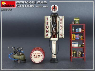 German Gas Station 1930-40s - 2