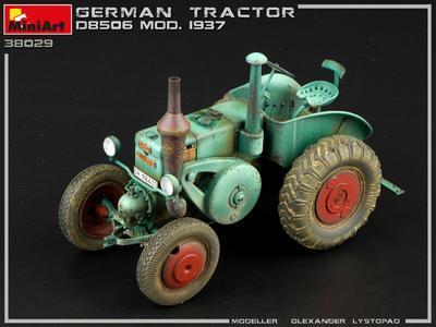 GERMAN TRACTOR D8506 MOD. 1937 - 2
