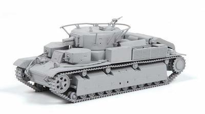 Soviet Medium Tank T-28 - 2