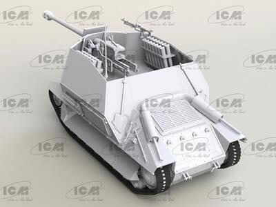 Marder I on FCM 36 base, WWII German Anti-Tank Self-Propelled Gun   - 2