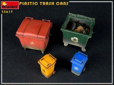 PLASTIC TRASH CANS - 2