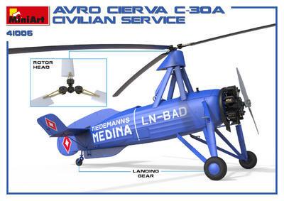 AVRO Cierva C.30A Civilian Service: OK-ATS Baťa - 2
