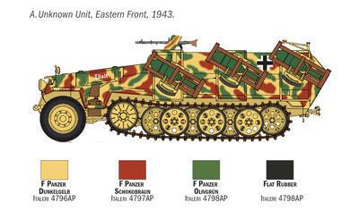 Sd.Kfz. 251/1 Wurfrahmen 40 Stuka zu Fuss - 2