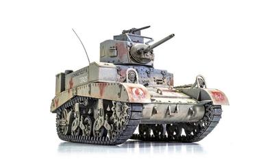 "British M3 Stuart ""Honey"" - 2"