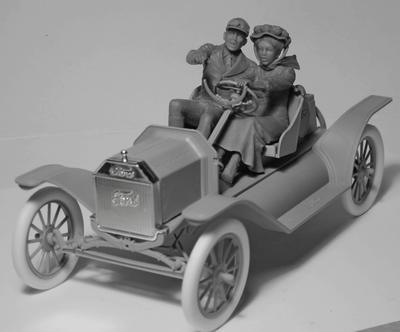 American Sport Car Drives (1910s) 2 fig.  - 2