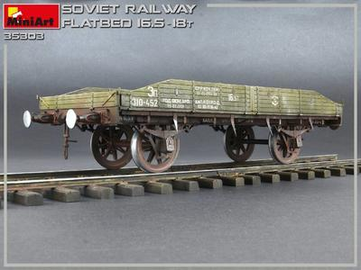 Soviet Railway Flatbed 16,5-18 t - 2
