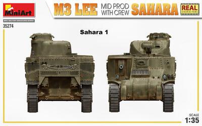 M3 LEE MID PROD. SAHARA w/CREW - 2