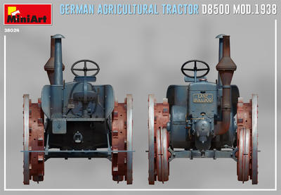GERMAN AGRICULTURAL TRACTOR D8500 MOD. 1938 - 2