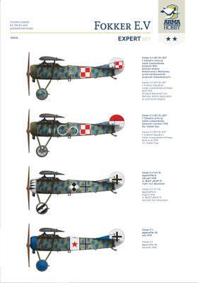 Fokker E.V Expert Set - 2