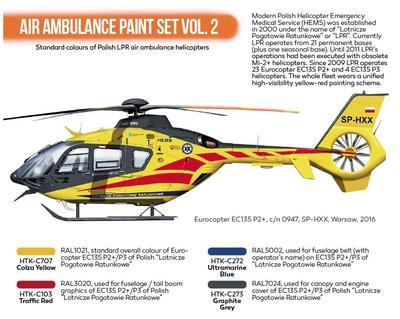 Air Ambulance Paint Set Vol.2, sada barev - 2