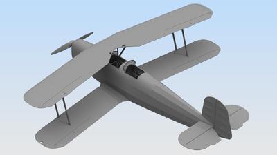Bücker Bü 131B German Training Aircraft - 2