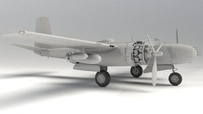 B-26B-50 Invader Korean War American Bomber - 2