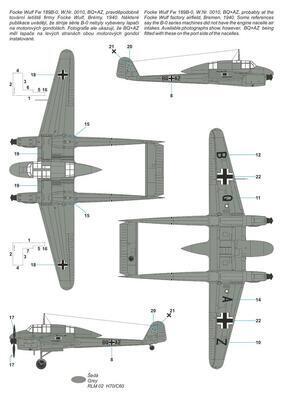 Focke Wulf Fw 189B-0/B-1 'Luftwaffe Trainer'  - 2