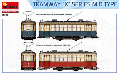 "TRAMWAY ""X"" SERIES MID TYPE - 2"