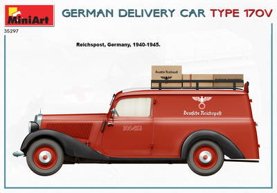GERMAN DELIVERY CAR TYPE 170V - 2