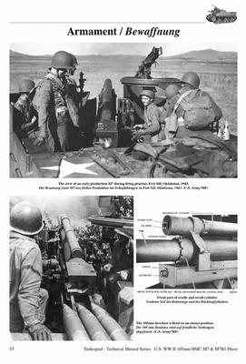 TM U.S. WWII 105mm M7 & M7B1 Priest - 2