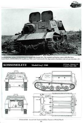 Tyagatshi Soviet Artillery Tracktor in Red army and Wehrmacht service in WWII - 2