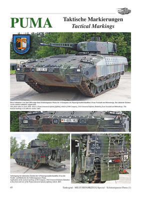 PUMA The New Armoured infantry Fighting Vehicle of the Bundeswehr - Part 1 - 2