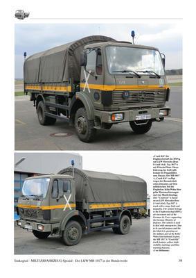MB 1017 The Mercedes-Benz 5-ton Trucks Type 1017/1017A - History, Variants, Service - 2