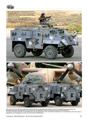 AT 105 SAXON Wheeled Armoured Personnel Carrier  - 2