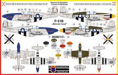 "P-51B ""Malcolm hood"" - 2"