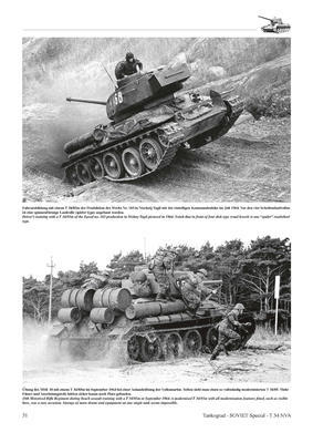 T 34 NVA The Soviet T-34 Tank and its Variants in Service with the East German Army (NVA) - 2