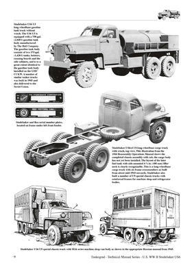 U.S. WWII Studebaker US6 2 1/2-Ton 6x6 & 6x4 Trucks - 2